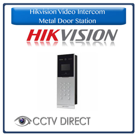 Hikvision Video Intercom Metal Door Station for multi-tenancy buildings