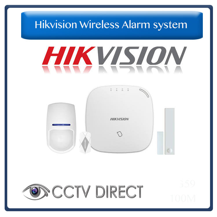 Hikvision Wireless Alarm 868MHz Wireless control Panel Kit - Sends SMS and Push notifications