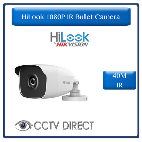 HiLook By Hikvision 1080p EXIR Bullet camera 40m IR 6mm lens
