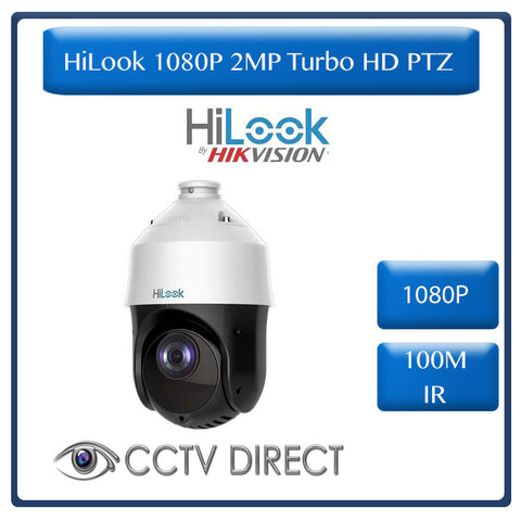 HiLook by Hikvision 1080p 2MP Turbo HD PTZ, 15 x zoom 100m IR