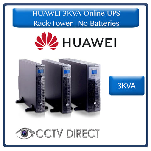 HUAWEI 3KVA Online UPS Rack/tower no batteries
