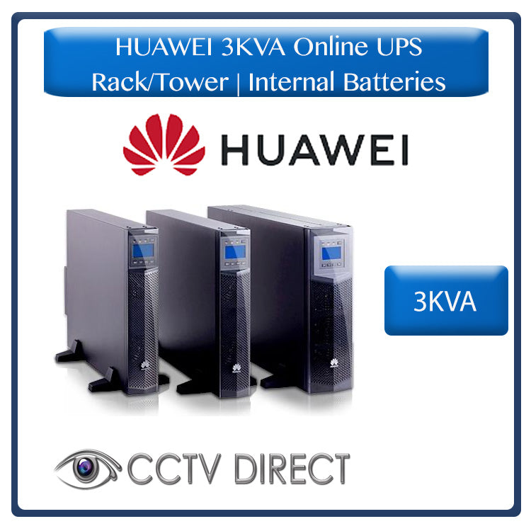 HUAWEI 3KVA Online UPS Rack/tower with internal batteries