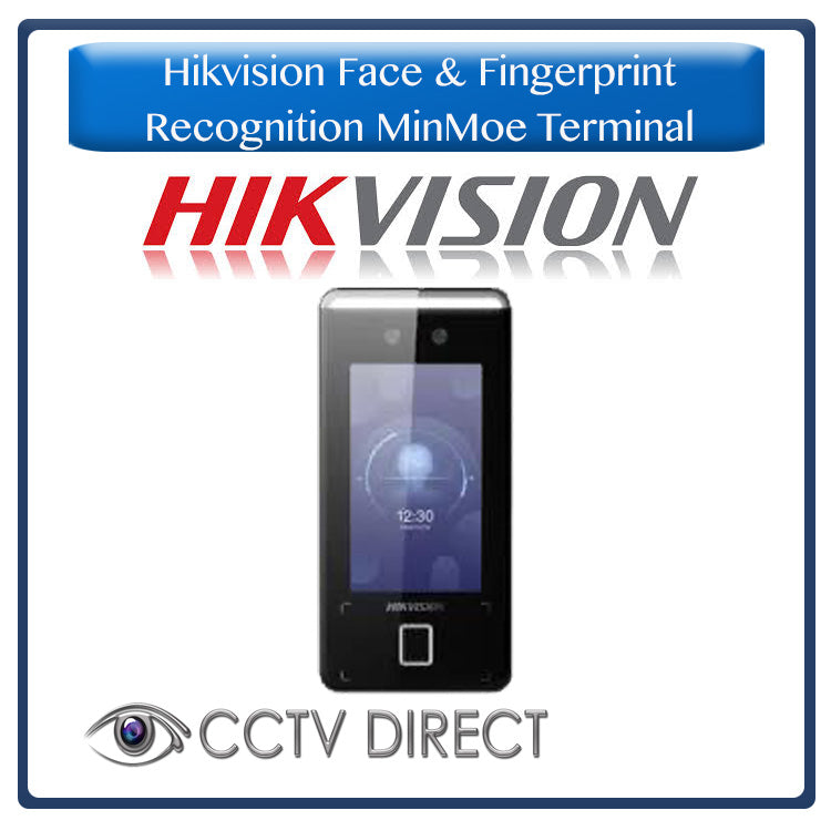 Hikvision Face & Fingerprint Recognition MinMoe Terminal