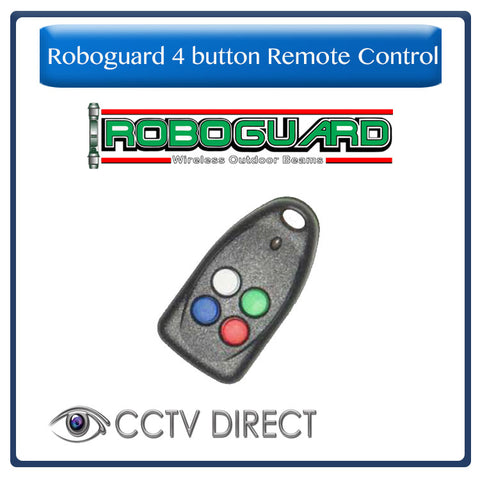 Roboguard 4 button Remote Control