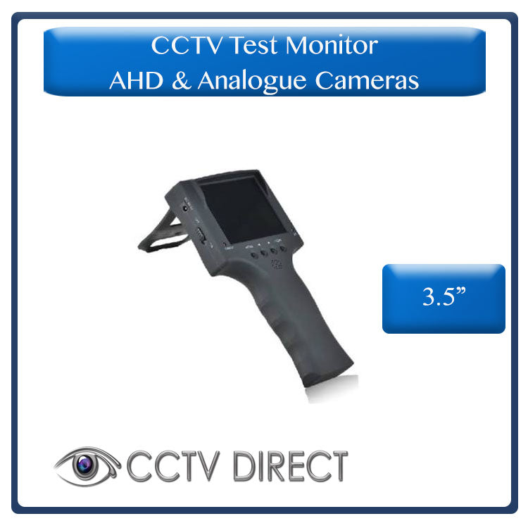 Portable CCTV Test Monitor, for AHD and Analogue camera's