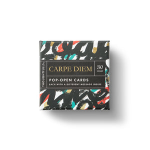 CARPE DIEM Pop-Open Cards