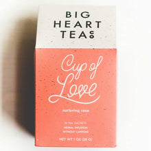 Load image into Gallery viewer, Cup of Love Rose Tea