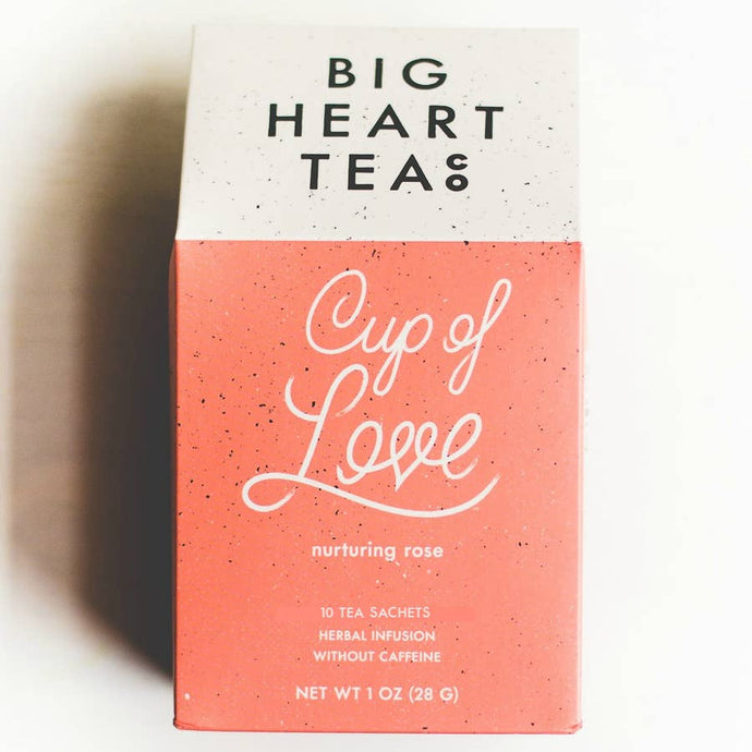 Cup of Love Rose Tea
