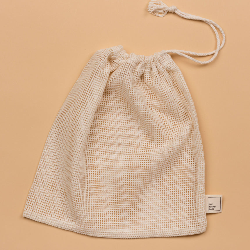 Organic Cotton Mesh Produce Bag – Large