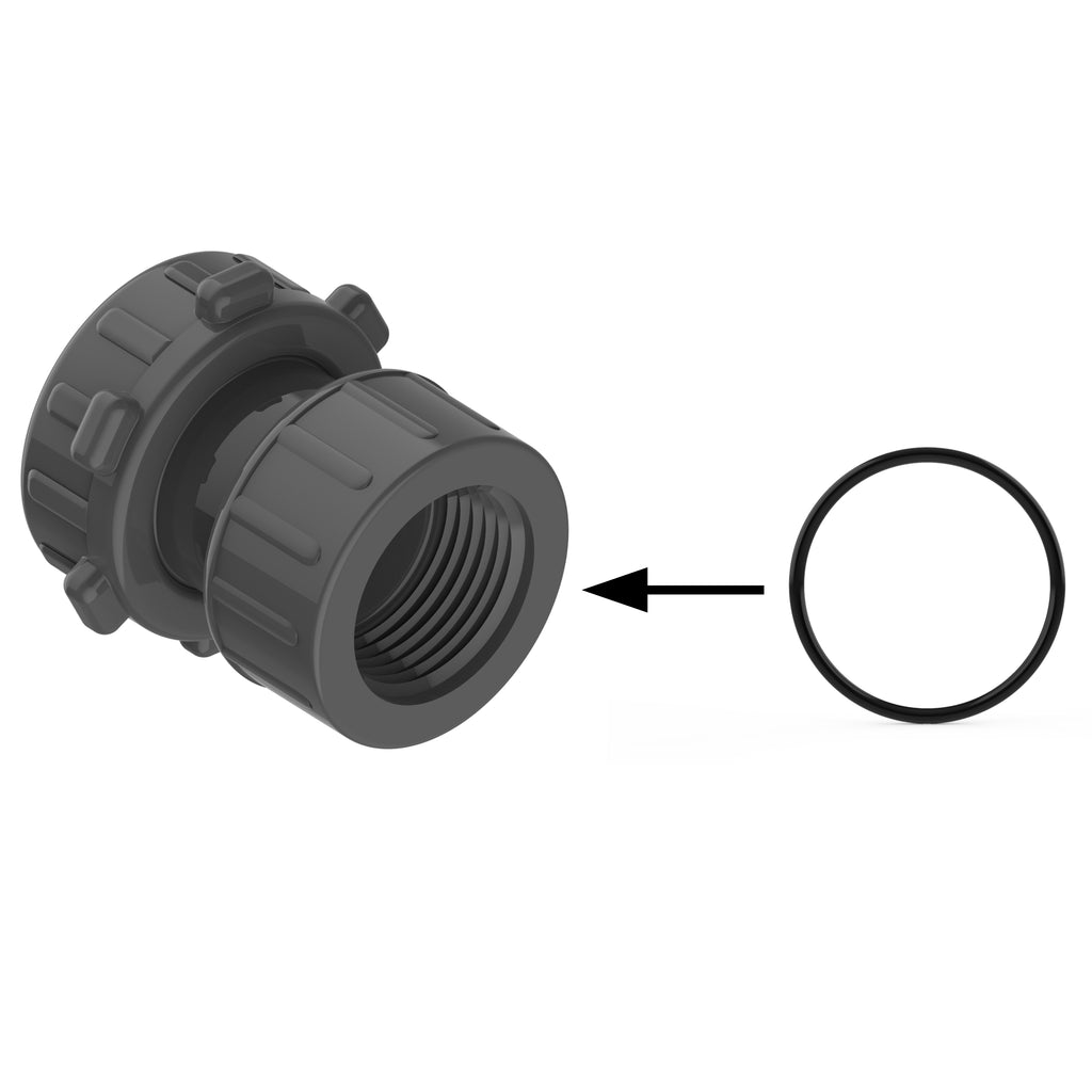 "FIPT Side O-Ring on 1"" Female Adapter & Female Transition (10300) Comes in a bag quantity of 20"