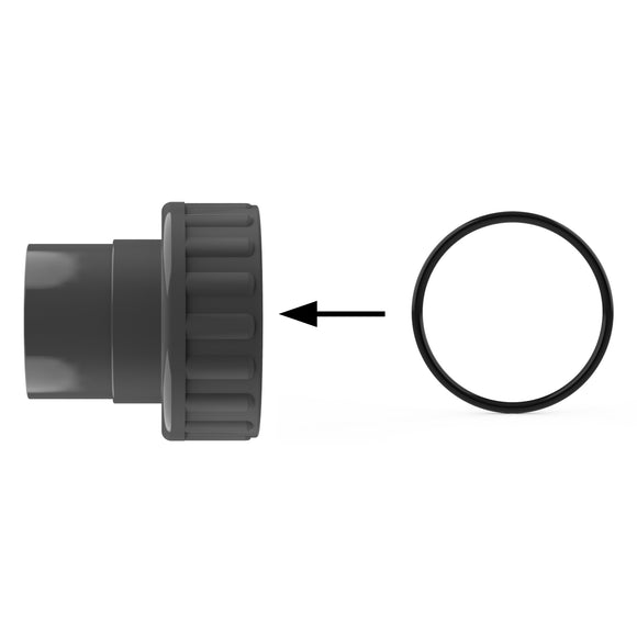 Swivel Side O-Ring on all 1½