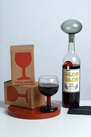 Verre Rouge Wine Glass
