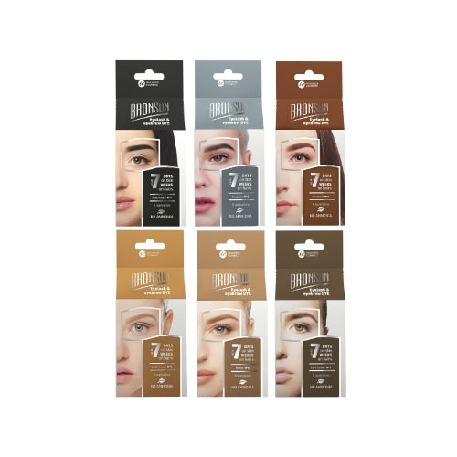 Bronsun Eyelash and Eyebrow TINT KIT 7ml + 5ml developer
