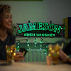 Jameson Irish Whiskey Faux-Neon Sign