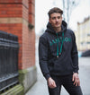 Jameson Pocket Hoodie- Charcoal