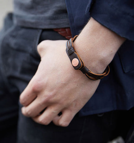 Jameson Leather Bracelet