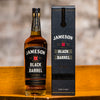 Engraved Jameson Black Barrel