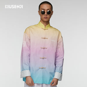 "Rainbow Color ""I AM HOT"" Tang suit For Men"