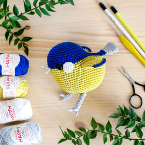 Ted the Amigurumi Red Robin | PDF Crochet Pattern