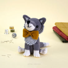 Load image into Gallery viewer, Italo the Amigurumi Wolf | PDF Crochet Pattern