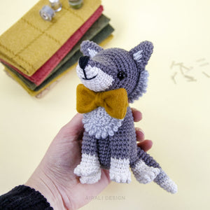 Italo the Amigurumi Wolf | PDF Crochet Pattern