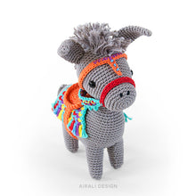 Load image into Gallery viewer, Pedro the Amigurumi Donkey | PDF Crochet Pattern