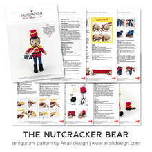 Load image into Gallery viewer, Nutcracker Amigurumi Bear | PDF Crochet Pattern