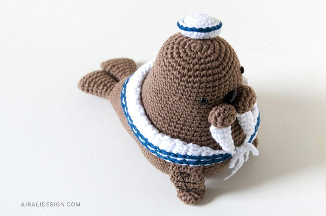 More Sea Creatures to Crochet – free patterns – Grandmother's ...   430x649