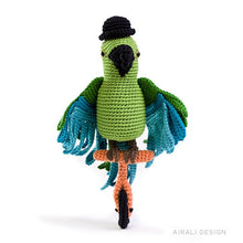 Load image into Gallery viewer, Carlo the Amigurumi Parrot | PDF Crochet Pattern