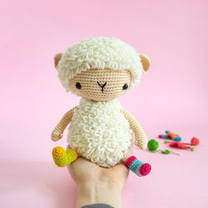 Anita the Amigurumi Sheep | PDF Crochet Pattern