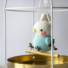 Load image into Gallery viewer, Amigurumi Chubby Birds: Cockatiel, Parakeet and Galah Parrot | PDF Crochet Pattern