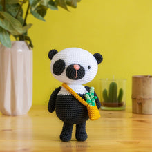 Load image into Gallery viewer, Paci the Amigurumi Panda | PDF Crochet Pattern
