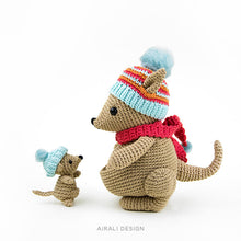 Load image into Gallery viewer, Bea and Miki Amigurumi Kangaroos | PDF Crochet Pattern