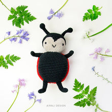 Load image into Gallery viewer, Carlotta the Amigurumi Ladybug | PDF Crochet Pattern