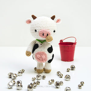 Mariella the Amigurumi Cow | PDF Crochet Pattern