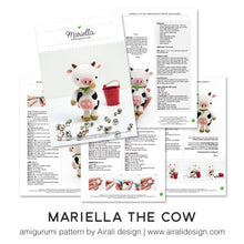 Load image into Gallery viewer, Mariella the Amigurumi Cow | PDF Crochet Pattern