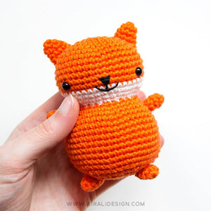 Amigurumi Chubby Friends: Bunny, Chick and Fox | PDF Crochet Pattern