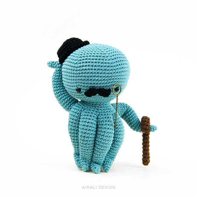 Ernest the Amigurumi Octopus | PDF Crochet Pattern
