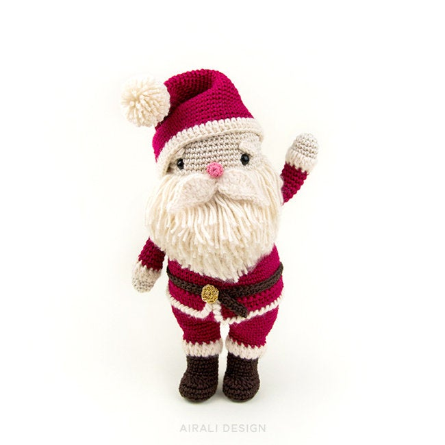 Miniature Christmas Hat and Magical Scarf For Hunny Bear | 650x650