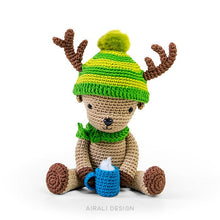 Load image into Gallery viewer, Dasher the Amigurumi Reindeer | PDF Crochet Pattern