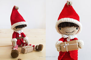 Santa's Helper Amigurumi Elf | PDF Crochet Pattern