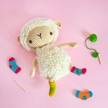 Load image into Gallery viewer, Anita the Amigurumi Sheep | PDF Crochet Pattern