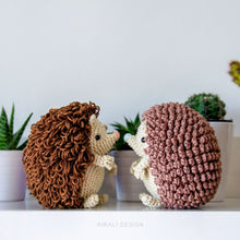 Load image into Gallery viewer, Roly the Amigurumi Hedgehog | PDF Crochet Pattern