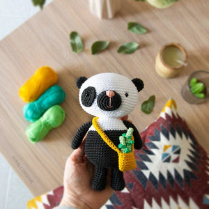 Paci the Amigurumi Panda | PDF Crochet Pattern