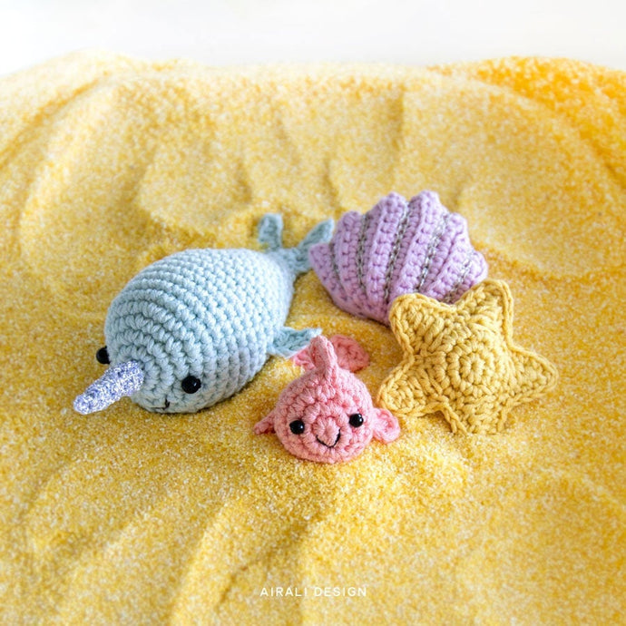 Amigurumi Sea Friends | PDF Crochet Pattern