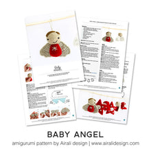 Load image into Gallery viewer, Baby Angel Amigurumi | PDF Crochet Pattern
