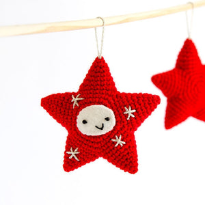 Amigurumi Christmas Decorations. 3 Crochet patterns in a PDF: Angel, Bell and Star