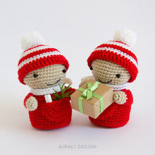 Load image into Gallery viewer, Christmas Elf Amigurumi | PDF Crochet Pattern