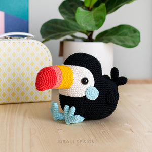 Toco the Amigurumi Toucan | PDF Crochet Pattern