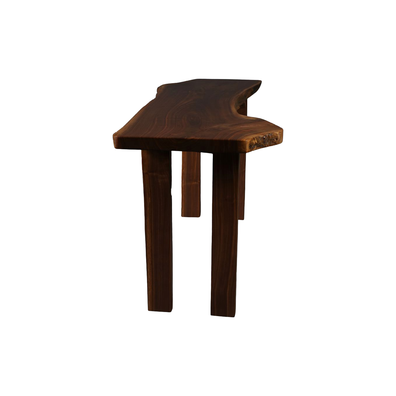 Nantucket Black Walnut Foyer Table (1250)